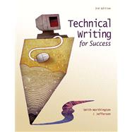 Technical Writing For Success by Smith-Worthington, Darlene; Jefferson, Sue, 9780538450485