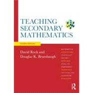 Teaching Secondary Mathematics by Rock; David, 9780415520492