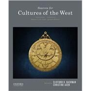 Sources for Cultures of the West Volume 1: To 1750 by Backman, Clifford R., 9780190240493
