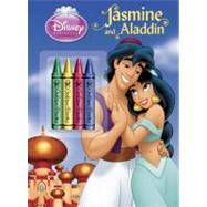 Jasmine and Aladdin Chunky Crayon with Stickers Book (Disney Princess) by RH DISNEYRH DISNEY, 9780736430494