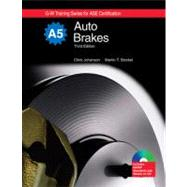 Auto Brakes Textbook w/Job Sheets on CD by Johanson, Chris; Stockel, Martin T., 9781605250496