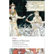 Defence of Socrates, Euthyphro, Crito by Plato, 9780199540501