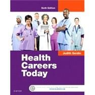 Health Careers Today by Gerdin, Judith, 9780323280501