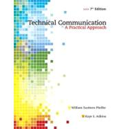 Technical Communication : A Practical Approach by Pfeiffer, William S.; Adkins, Kaye E., 9780135000502