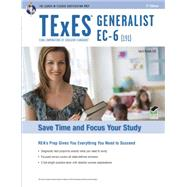 Texes Generalist Ec-6 (191) by Rosado, Luis A., 9780738610504