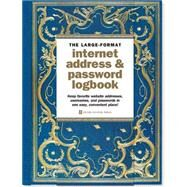 Celestial Large-format Internet Address & Password Logbook by Peter Pauper Press, 9781441320506