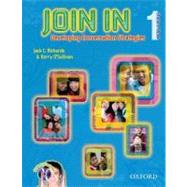 Join in Student Book 1 with Audio CD by Richards; O'Sullivan, 9780194460507