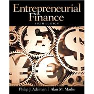 Entrepreneurial Finance by Adelman, Philip J.; Marks, Alan M., 9780133140514