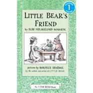 Little Bear's Friend by Minarik, Else Holmelund, 9780064440516