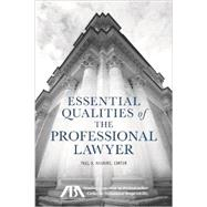 Essential Qualities of the Professional Lawyer by Haskins, Paul A., 9781627220521
