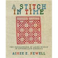A Stitch in Time: The Needlework of Aging Women in Antebellum America by Newell, Aimee E., 9780821420522