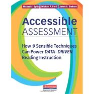 Accessible Assessment by Opitz, Michael F.; Ford, Michael P.; Erekson, James A., 9780325030524