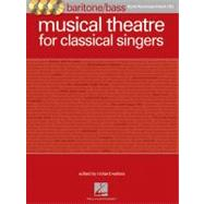 Musical Theatre for Classical Singers: Baritone/Bass Book/Accompaniment Cds by Hal Leonard Publishing Corporation; Walters, Richard, 9781458410528