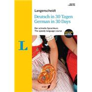 Langenscheidt German in 30 Days by Obergfell, Christoph, 9783468280528
