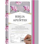 RVR 1960 Biblia de apuntes, gris y floreado tela impresa by Unknown, 9781433650529