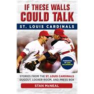 If These Walls Could Talk St Louis Cardinals: Stories from the St. Louis Cardinals Dugout, Locker Room, and Press Box by Mcneal, Stan, 9781629370538