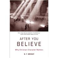 After You Believe: Why Christian Character Matters by Wright, N. T., 9780061730542