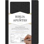 RVR 1960 Biblia de apuntes, negro símil piel by Unknown, 9781433650543
