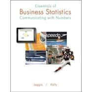 Essentials of Business Statistics Communicating With Numbers by Jaggia, Sanjiv; Kelly, Alison, 9780078020544