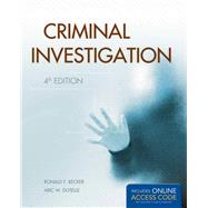 Criminal Investigation by Becker, Ronald F.; Dutelle, Aric W., 9781449650544