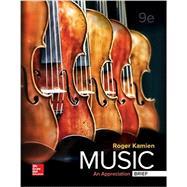 Music: An Appreciation, Brief Edition by Kamien, Roger, 9781259870545
