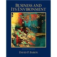 Business and Its Environment by Baron, David P., 9780132620550