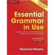 Essential Grammar in Use With Answers by Murphy, Raymond, 9781107480551