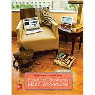 Practical Business Math Procedures by Slater, Jeffrey; Wittry, Sharon, 9781259540554