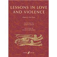 ISBN 9780571540556 product image for Lessons in Love and Violence | upcitemdb.com
