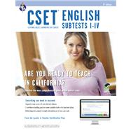 CSET English Subtests I-IV by Allen, John, 9780738610559
