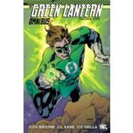 The Green Lantern Omnibus Vol. 1 by BROOME, JOHNKANE, GIL, 9781401230562