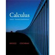 Calculus Early Transcendentals by Briggs, Bill L; Cochran, Lyle; Gillett, Bernard, 9780321570567