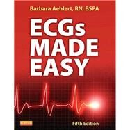 ECGs Made Easy by Barbara Aehlert, 9780323170574