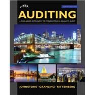 Auditing A Risk Based-Approach to Conducting a Quality Audit by Johnstone, Karla; Gramling, Audrey; Rittenberg, Larry E., 9781305080577
