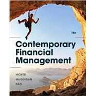 Contemporary Financial Management, 14th by Moyer/Mcguigan/Rao, 9781337090582