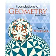 Foundations of Geometry by Venema, Gerard, 9780136020585