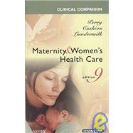 Clinical Companion for Maternity and Women's Health Care - Text and E-Book Package by Perry, Shannon E., 9780323060585