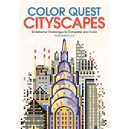 Color Quest Cityscapes by Woodcock, John, 9781438010588