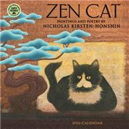 Zen Cat Paintings and Poetry 2016 Calendar by Kirsten-honshin, Nicholas, 9781631360589