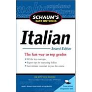 Schaum's Easy Outline of Italian, Second Edition by Bonaffini, Luigi; Germano, Joseph; Schmitt, Conrad, 9780071760591
