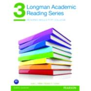 Longman Academic Reading Series 3 Student Book by Miller, Judy; Cohen, Robert, 9780132760591