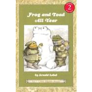 Frog And Toad All Year by Lobel, Arnold, 9780064440592