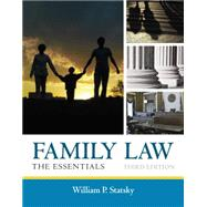 Family Law The Essentials by Statsky, William P., 9781285420592