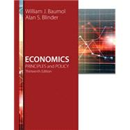 Economics Principles and Policy by Baumol, William J.; Blinder, Alan S., 9781305280595