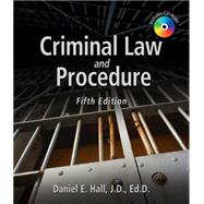 Criminal Law and Procedure by Hall, Daniel E., 9781428340596