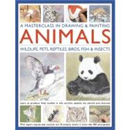 A Masterclass in Drawing and Painting Animals: Wildlife, Pets, Reptiles, Birds, Fish and Insects by TRUSS JONATHAN, 9780754820598