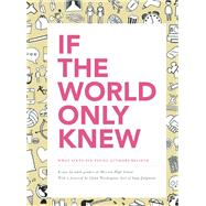 If the World Only Knew: What Sixty-Six High School Students Believe 826 Valencia's 2015 Young Authors' Book Project by Mission High School, Students of; Parent, Molly; Washington , Glynn, 9781934750599