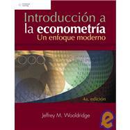 Introduccion a la econometria/ Introductory Econometrics: A Modern Approach by Wooldridge, Jeffrey, 9789708300599