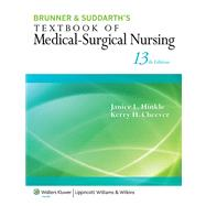 Brunner & Suddarth's Textbook of Medical-Surgical Nursing by Hinkle, Janice L.; Cheever, Kerry H., 9781451130607