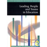 Leading People and Teams in Education by Lesley Kydd, 9780761940609